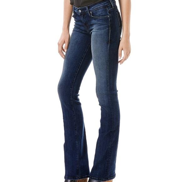 Level 99 Chloe Flare Denim Jeans Semi Bootcut Pant Nwt